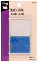Dritz Tailor's Chalk White & Blue For Dark or Light Fabrics