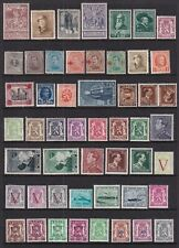 Belgium Mint Stamps 1890's-1940's MLH/MH