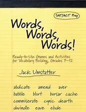Words, Words, Words! : Ready-to-Use Games and Activities for Vocabulary...