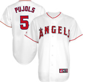 MLB Majestic Authentic Los Angeles Angels Home #5 Baseball Jersey New 4X