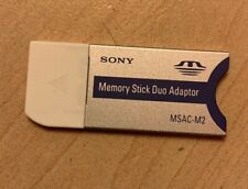 Sony Memory Stick Duo Adapter Msac-M2