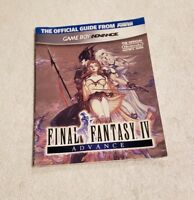 GBA - Final Fantasy IV Advance Preowned Nintendo Player's Strategy Guide
