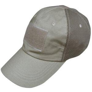 Condor Tactical Mesh Cap Hat - Tan -  TCM-003