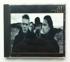 U2 The Joshua Tree CD Album 1987 Canadian Canada Metallic Gold Print artwork