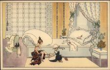 Mela Koehler Broman - Children Art Deco Nouveau c1915 Postcard B41/55