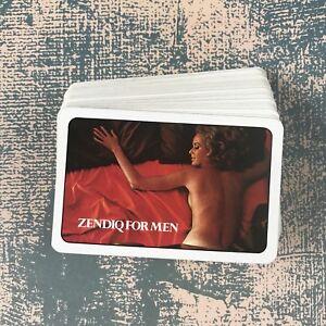 Vintage Playing Cards Advertising Zendiq for Men Erotic Risque (b)