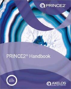 PRINCE2 HANDBOOK (2017 CURRENT VERSION) PROJECT MANAGEMENT - BRAND NEW & MINT