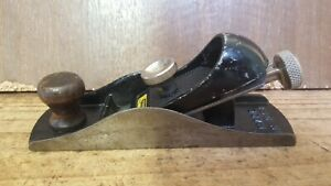 Vintage Stanley No 220 Block Plane, Made in the USA