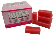 Red Carving Wax Blocks, 200g Jewellers or Dental Lab Supplies
