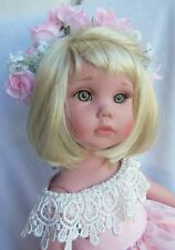 "LOVEE 18"" Doll Darling HAYLEY by Linda Rick w/stand # 2003 The Doll Maker"