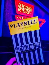 BEETLEJUICE Playbill Musical NEW YORK DEBUT BROADWAY ALEX BRIGHTMAN
