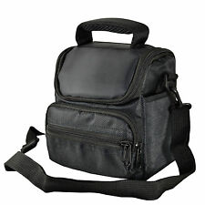 AA3 Black Camera Case Bag for Polaroid IS2132 IE3035 Bridge Camera