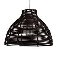Modern Brown Wicker Rattan Ceiling Pendant Light Lamp Shade Rustic Home Lighting