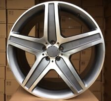 22 Pollici 4 Cerchi per Mercedes Benz Gl GLS ML 5x112 10J ET50 4 Cerchione Set