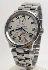 Ulysse Nardin Marine Chronometer 263-22 38mm Men's Automatic Steel Watch Box