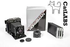 Horseman 45HD 4X5 Camera with 125mm + 210mm Lenses + Holders