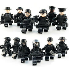 12pcs Military SWAT Special Police Building Block Bricks Toys for Children