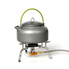 800ml Outdoor Coffee Teapot Camping Hiking Picnic BBQ Kettle Water Pot Aluminum
