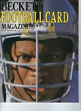 RARE!! 1989 #1 First Issue Beckett Football Card Price Guide Magazine Bo Jackson