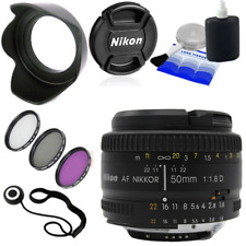 Nikon 50mm f/1.8D AF Nikkor Lens for Nikon Digital SLR Cameras BEST UK DEAL