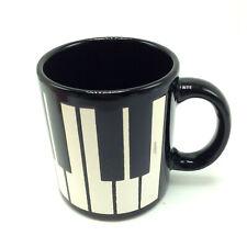 Piano Keys Waechtersbach Mug Germany Black White 12 Oz Sharps Flats Keyboard
