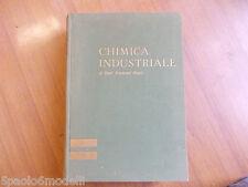 manuali CHIMICA INDUSTRIALE EMIL RAYMOND RIEGEL UTET 1962