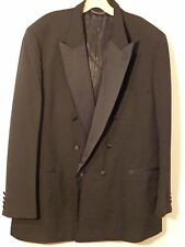 CHRISTIAN DIOR MONSIEUR TUXEDO & PANTS MEN 48L BLACK EXCELLENT CONDITION