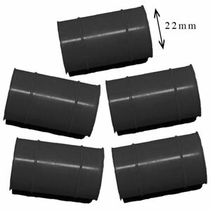 Set of 5 KTM Rubber Exhaust Seals Black 22mm fits 2014 450 RALLY FACTORY REP US