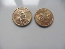 US Münze 1 $ Dollar Sammler SACAGAWEA INDIAN HIAWATHA GÜRTEL GREAT LAW PEACE USA