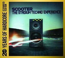 SCOOTER - STADIUM TECHNO EXPERIENCE: 20 YEARS OF HARDCORE 3 CD ELECTRO NEU