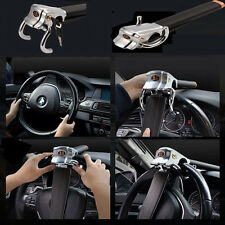 Foldable Car Steering Wheel Anti Theft Security Airbag Lock Safe Devices +2Keys
