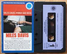MILES DAVIS - PORGY & BESS (CBS 490985) 1980s EUROPE CASSETTE REISSUE GERSHWIN