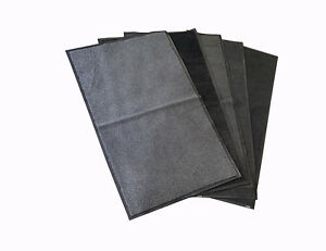 Pack of 10 Non Slip 5x3 Machine Washable Dirt Trapper Door Entrance Mat Home