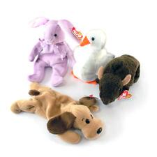 Ty Beanie Babies Bones, Roam, Floppity, & Gracie Lot of 4