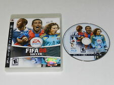 FIFA 08 Playstation 3 PS3 Game Disc w/ Case