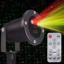 Outdoor Laser Light Red/Green Projector Landscape + Wireless Remote Control-MY