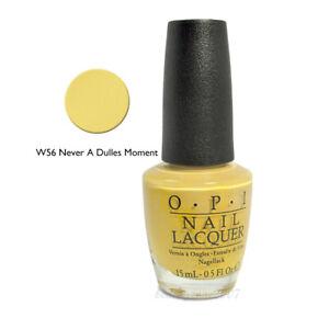 OPI Nail Polish W56 Never a Dulles Moment 0.5oz