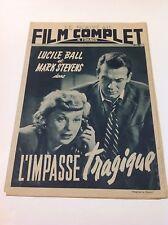 1946 FILM COMPLET 86 Magazine The Dark Corner Film Noir LUCILLE BALL I Love Lucy