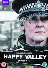 Happy Valley - Series 1 & 2 DVD 2016
