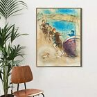Framed Canvas Wall Art by Marc Chagall Living Room Home Decorations