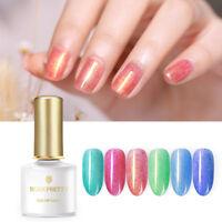 BORN PRETTY 6ml Nagel Gellack Pelz Holographisch Soak Off Nail UV Gel Polish