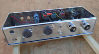 TWEED GUITAR TUBE AMP CHASSIS PROJECT CHROME PLATED NEEDS TRANSFORMERS & TUBES