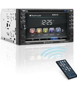 Planet Audio P9640B Double Din, Touchscreen, Bluetooth, DVD/CD/MP3/USB/SD AM/FM