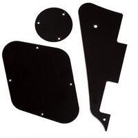 Black Pickguard/Cavity/Switch/Cover Set for Les Paul