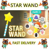Animal Crossing New Horizons STAR WAND In Game Item Fast Delivery