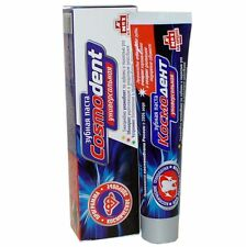 Toothpaste for astronaut Space program Universal Cosmodent natural Russia 60 ml