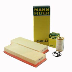 MANN-FILTERAir C3698/3-2 Oil HU718/5X FiltersRAPKIT080