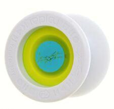 Replay Pro Electric Glow Aqua Yo Yo From YOYOFactory +3 Neon Strings YE/ORG/GRN
