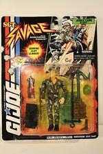 G.I. Joe Sgt. Savage Jungle Camo D-Day #3 action figure - Hasbro 1995 New In Box