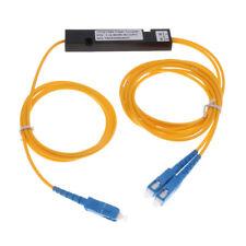 Fiber Optic Cable Splitter Cable, SC/SC, Single Mode, 1M, Yellow